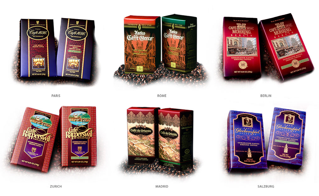 European Coffeehouse Collection